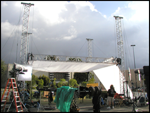 arena lighting equipment
